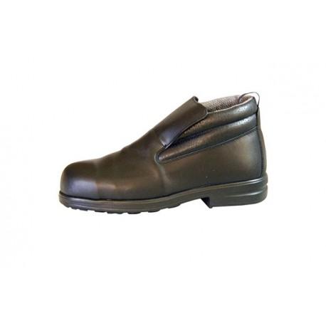 chaussure haute horeca cuisine et nettoyage en cuir 070 BK