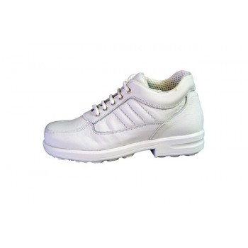 Chaussure de sécurité montante blanche